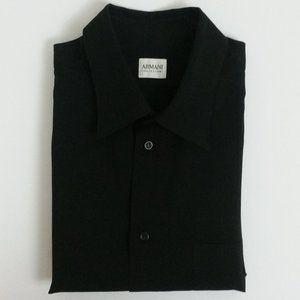Armani Collezioni Polyester Dress Shirt